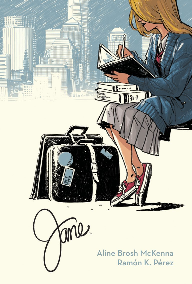 Cover to 'Jane' HC. Art by Ramón Pérez and Irma Kniivila/Archaia/BOOM! Studios
