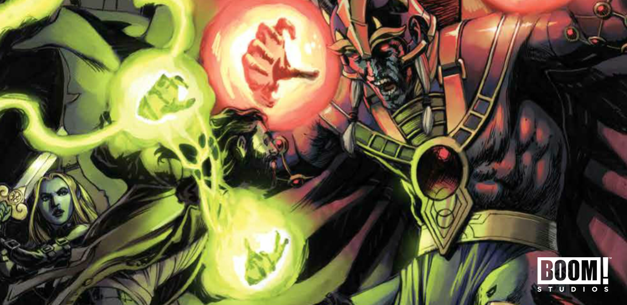 EXCLUSIVE: The fur really begins to fly in 'The Amory Wars: I'm Burning Star IV' #9