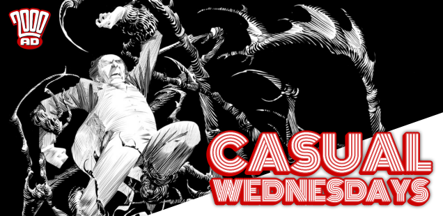 Hell Yes, Scary Comics -- CASUAL WEDNESDAYS WITH DOOMROCKET