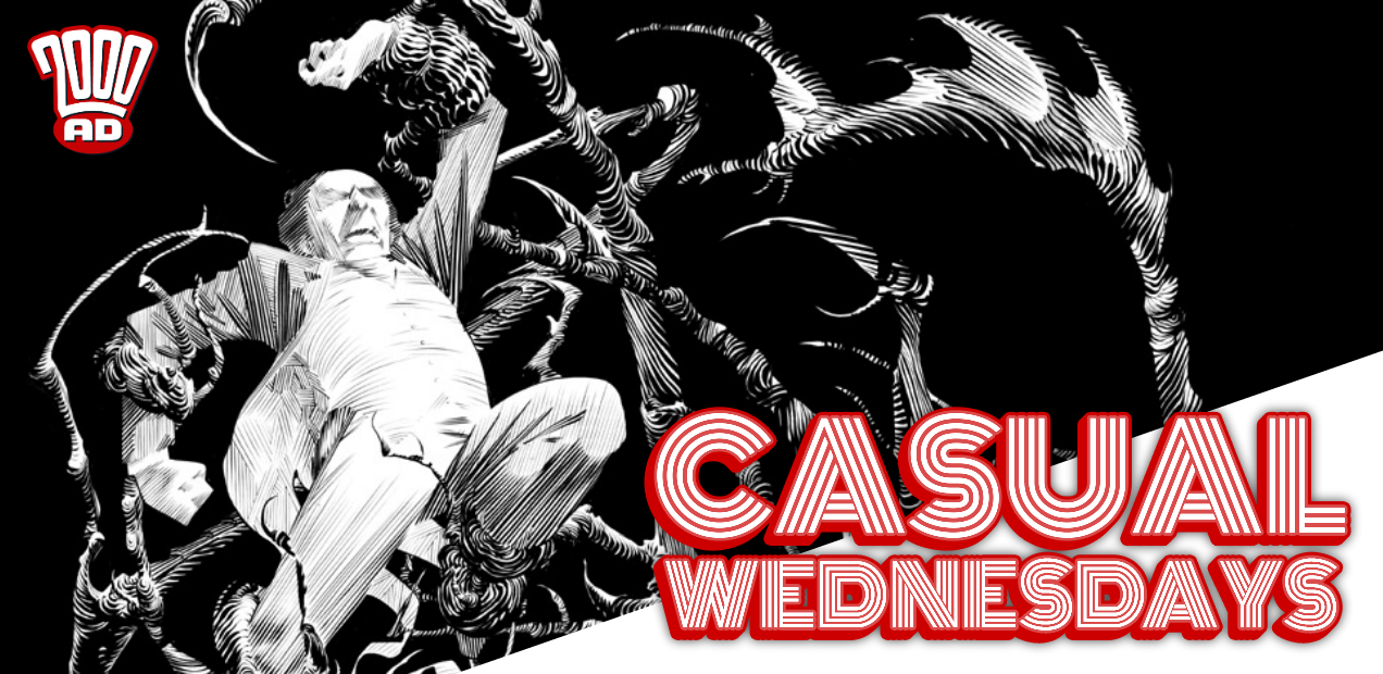 Hell Yes, Scary Comics — CASUAL WEDNESDAYS WITH DOOMROCKET