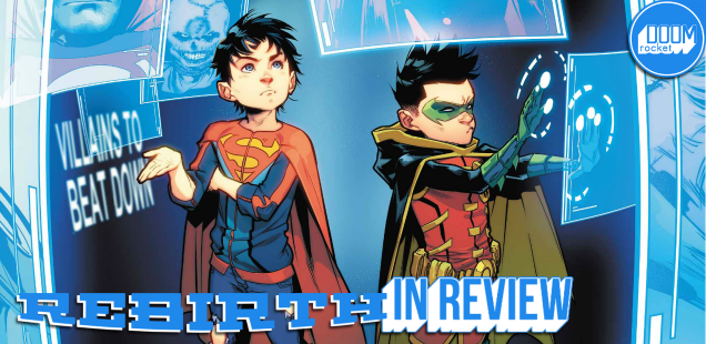 Sweet-natured 'Super Sons' #10 sets the stage for the dire things to come