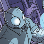 The ol' turbines are running at full tilt in 'Atomic Robo and the Spectre of Tomorrow'