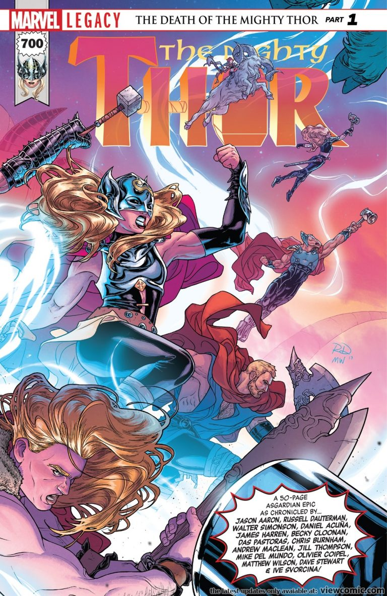 Best Single Issues: The Mighty Thor #700