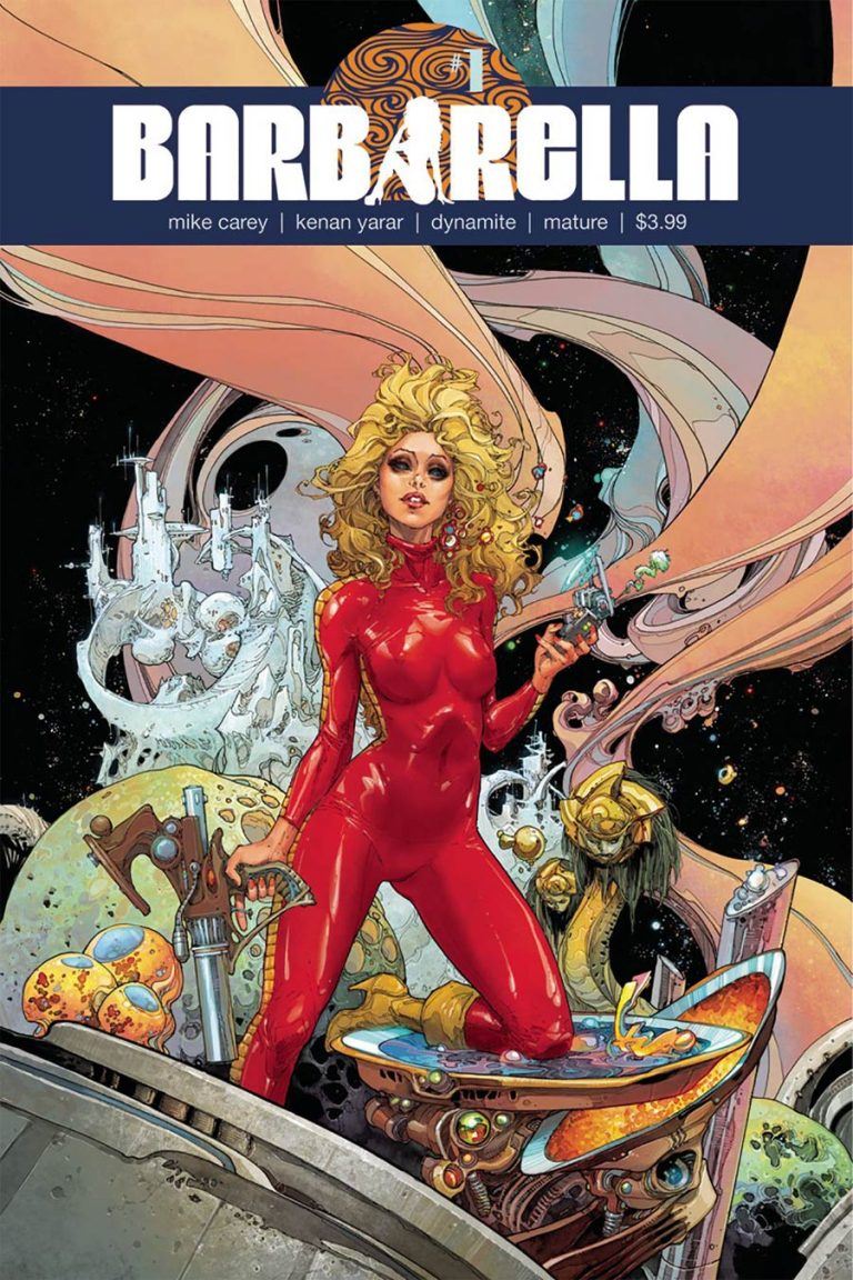 Barbarella #1, by Kenneth Rocafort and Annie Wu. (Dynamite Comics)