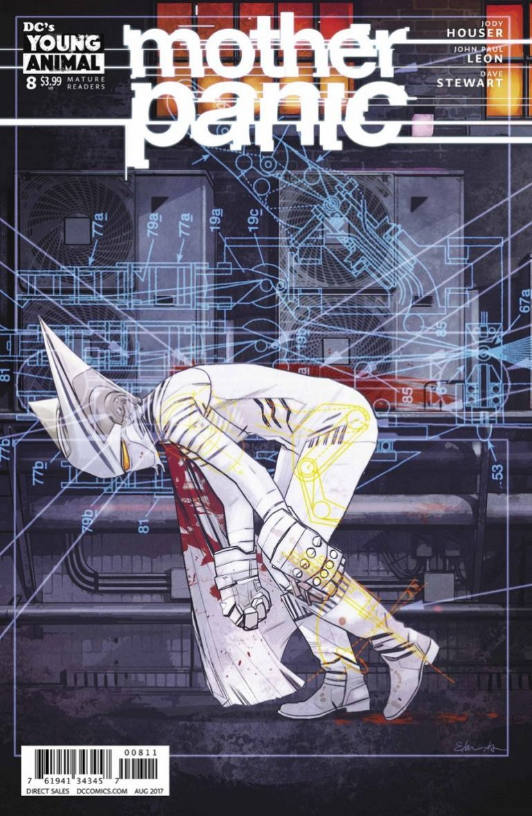 Best Single Issues: Mother Panic #8
