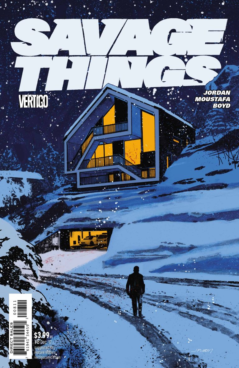 Savage Things #8, by John Paul Leon. (DC/Vertigo)