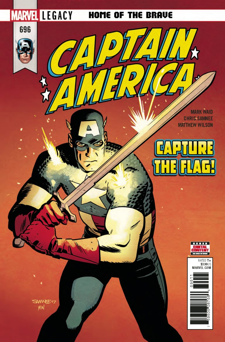 Staff Picks: Captain America #696