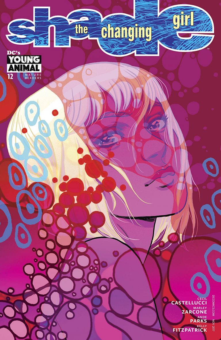 Shade, The Changing Girl #12, by Becky Cloonan and Matt Taylor. (DC Comics/Young Animal)