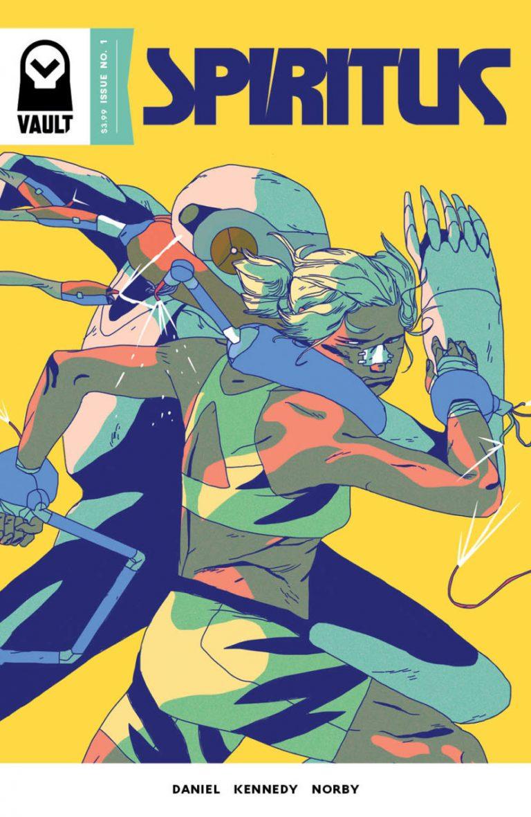 Spiritus #1, by Michael Kennedy. (Vault)