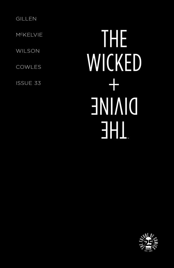 Best Single Issues: The Wicked + The Divine #33