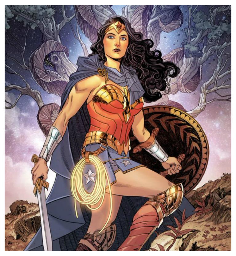 Art by Bilquis Evely and Romulo Fajardo, Jr./DC Comics