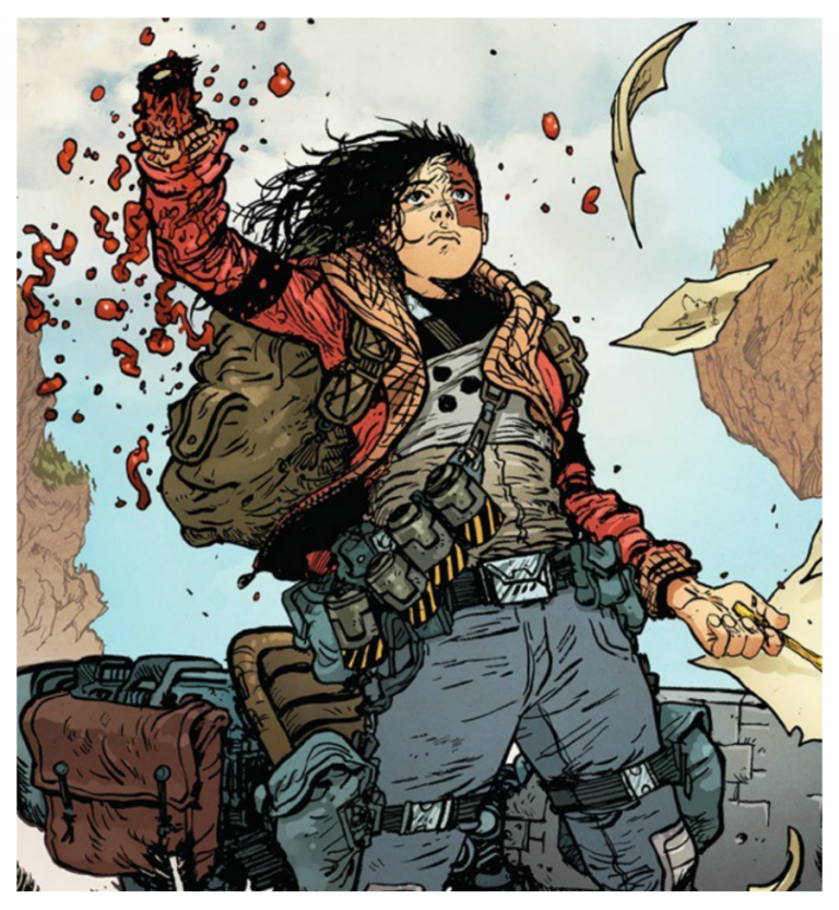 Art by Daniel Warren Johnson and Mike Spicer/Image Comics