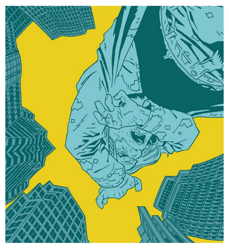 The Dregs. Art by Eric Zawadzki/Black Mask Studios