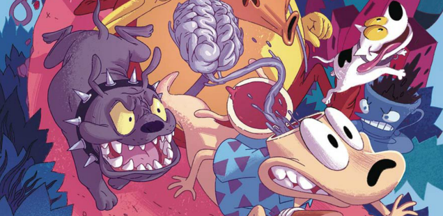A neurotic Nineties hero ventures bravely into the 21st Century in 'Rocko's Modern Life'