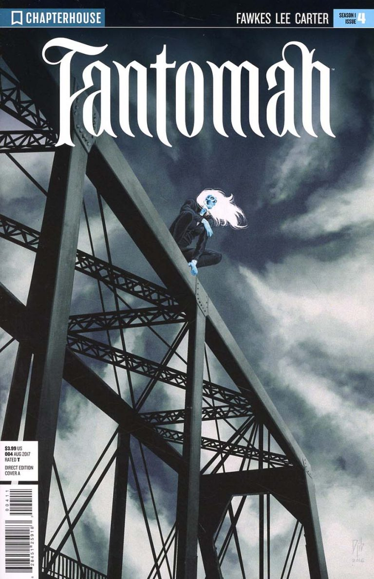 Cover to 'Fantomah' #4. Art by Djibril Morrisette/Chapterhouse Comics