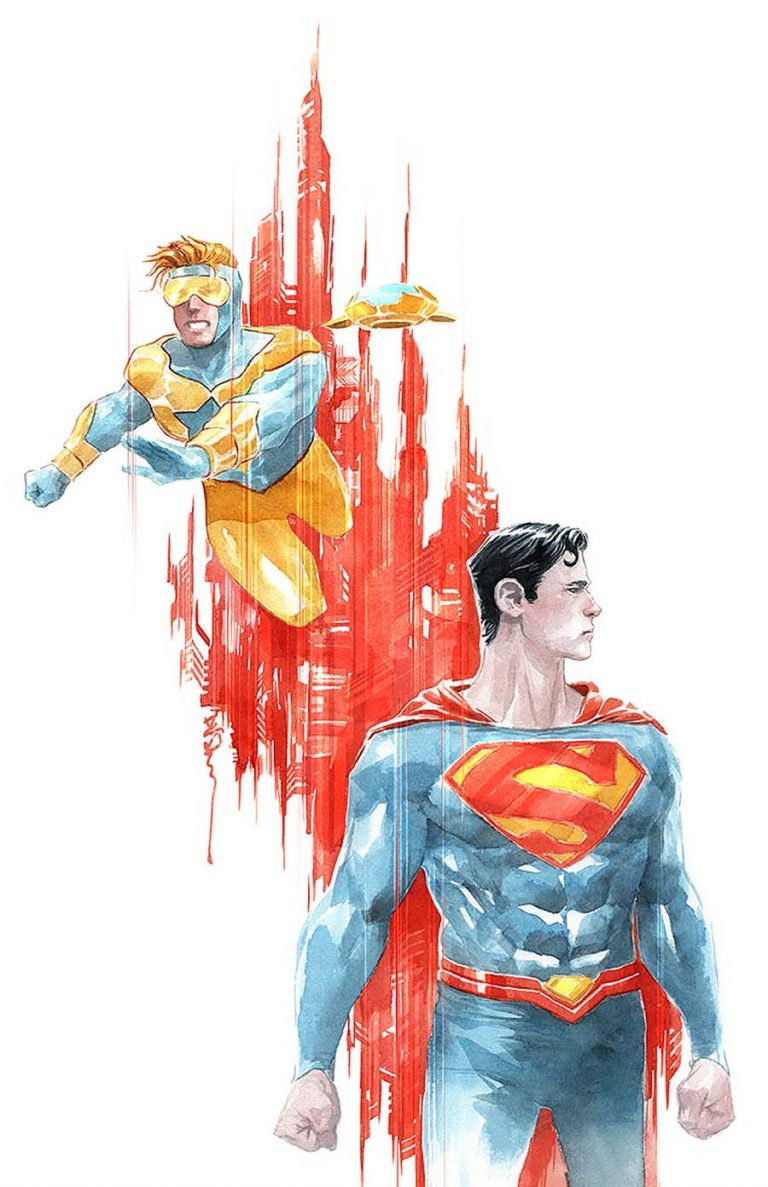 Undercover: Action Comics #995, by Dustin Nguyen. (DC Comics)