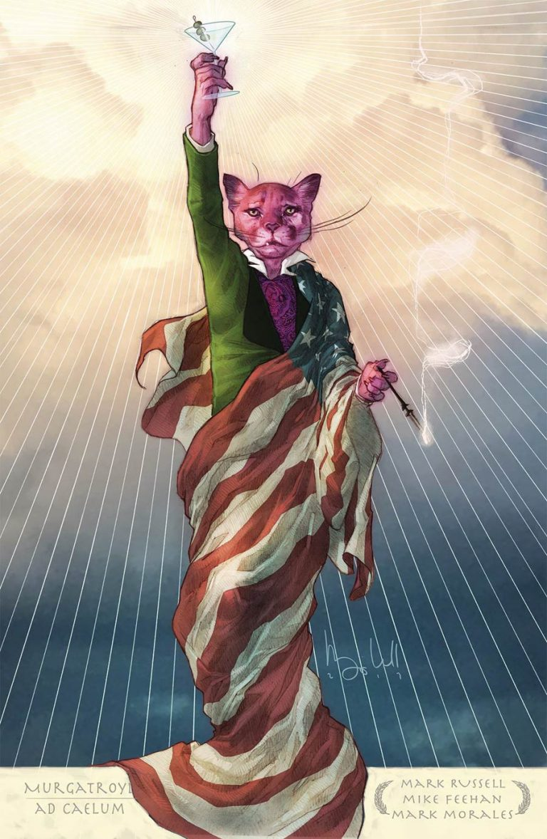 Undercover: Exit Stage Left: The Snagglepuss Chronicles #1, by Ben Caldwell. (DC Comics)