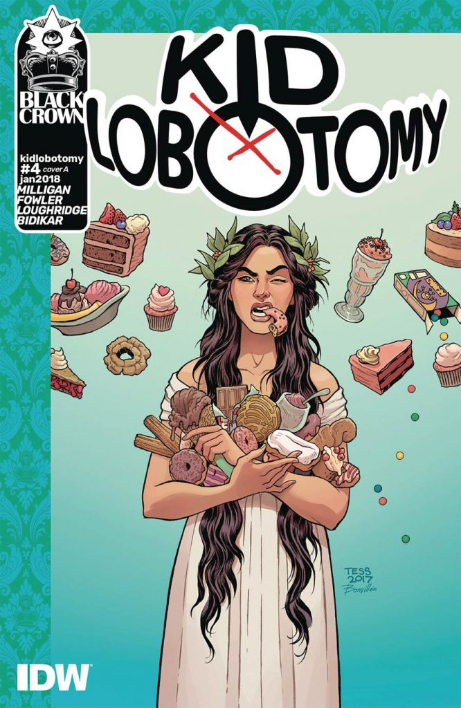 Undercover: Kid Lobotomy #4, by Tess Fowler and Lee Loughridge. (Black Crown/IDW Publishing)