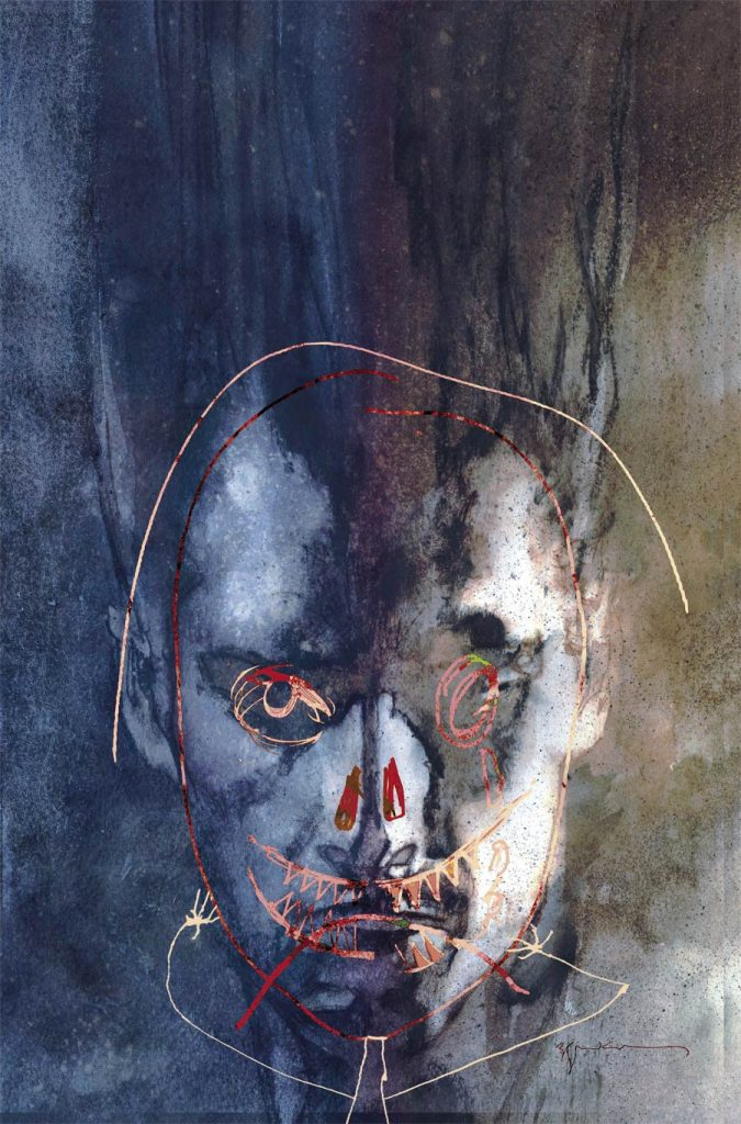 Undercover: Legion #1, by Bill Sienkiewicz. (Marvel Comics)