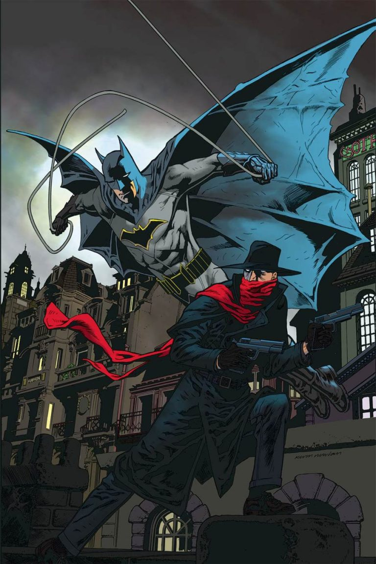 Undercover: The Shadow/Batman #4, by Kevin Nowlan. (Dynamite)