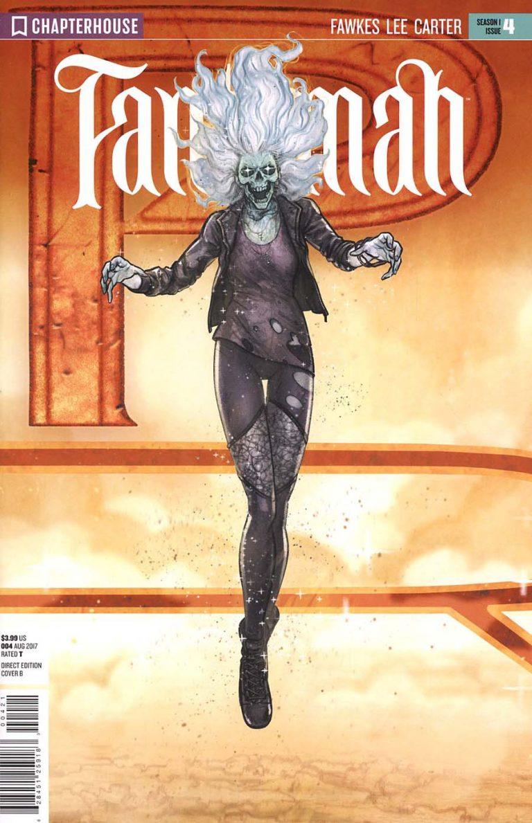 Variant cover to 'Fantomah' #4. Art by Djibril Morrisette/Chapterhouse Comics