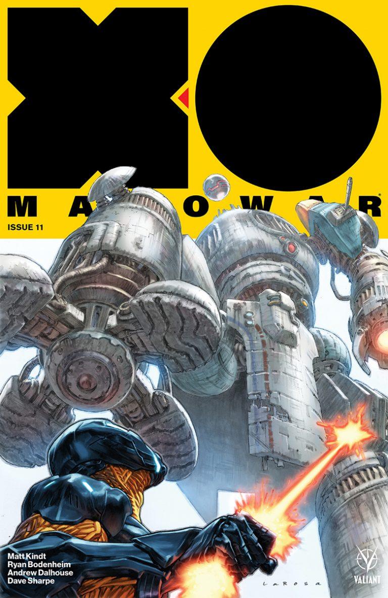 Week In Review: X-O Manowar #11