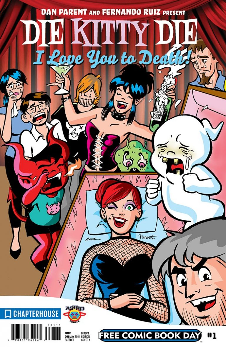 "Chapterhouse FCBD 2018: Die Kitty Die: ""I Love You To Death"""
