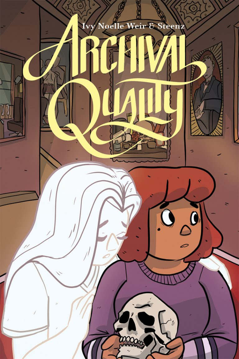 Cover to 'Archival Quality'. Art by Steenz/Oni Press