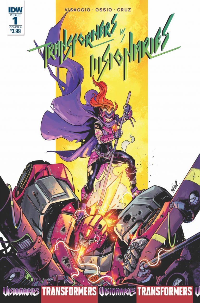 Week In Review: Transformers vs. Visionaries #1