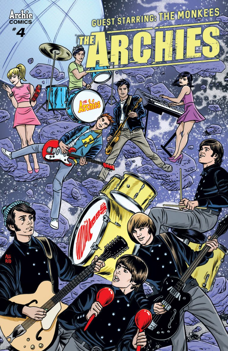Undercover: The Archies #4, by Mike and Laura Allred. (Archie Comics)