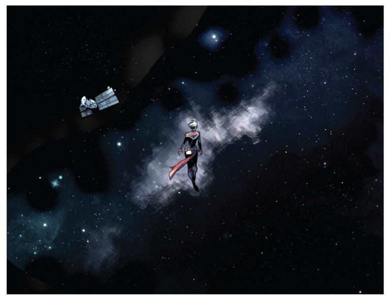 Interior panel from 'Avengers' #675. Art by Pepe Larraz, David Curiel, and Cory Petit/Marvel Comics