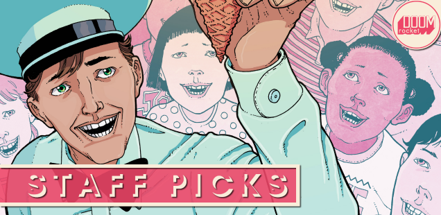 Staff Picks: Ever-smiling, ghoulishly jolly 'Ice Cream Man' ready to meet your gaze