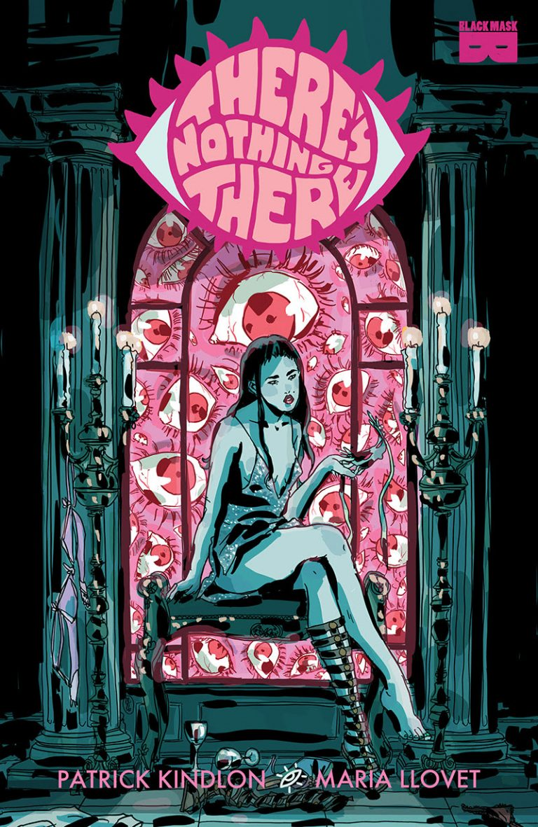 Cover to 'There's Nothing There' TPB. Art by Maria Llovet and Phil Smith/Black Mask