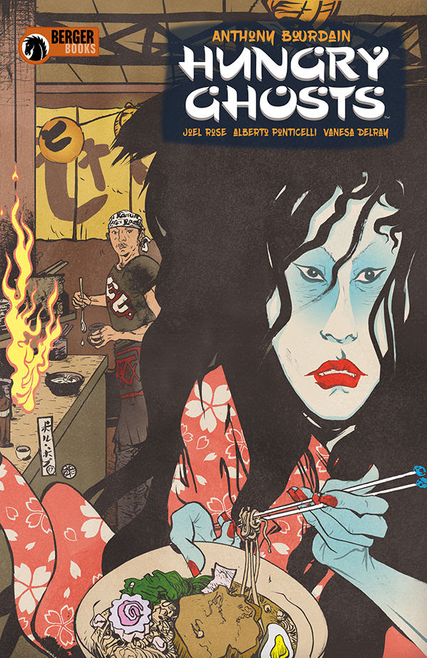 Cover to 'Hungry Ghosts' #1. Art by Paul Pope/Berger Books/Dark Horse Comics
