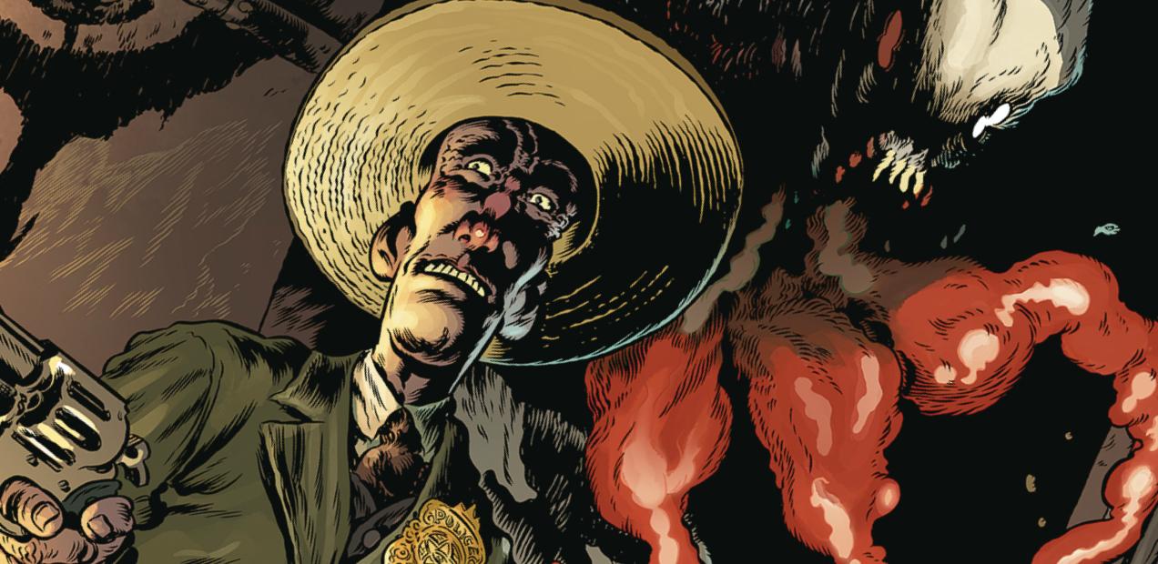 'Vinegar Teeth' #1: Big hats, bigger laughs, and plenty of Bloops, Splorts, and Glorps