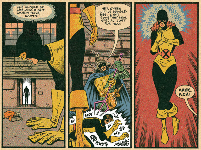 Interior panel from 'X-Men: Grand Design' # 1. Art by Ed Piskor/Marvel Comics