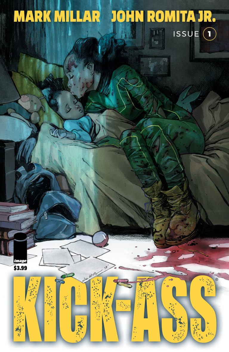 Undercover: Kick-Ass #1, by Olivier Coipel (Image Comics)