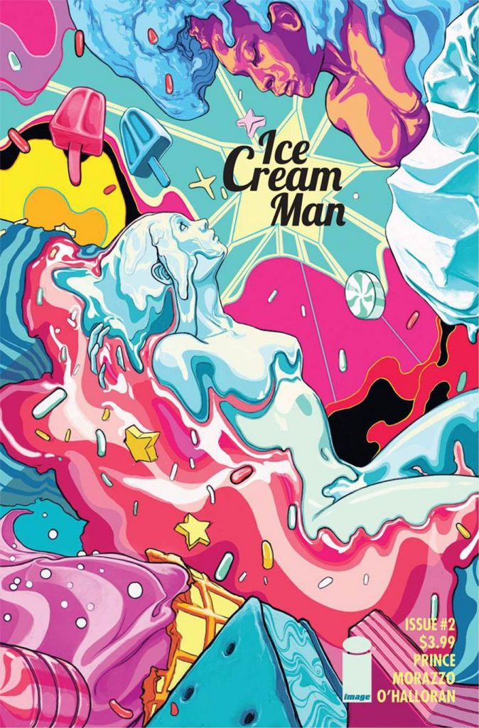 Undercover: Ice Cream Man #2, by Nimit Malavia. (Image Comics)