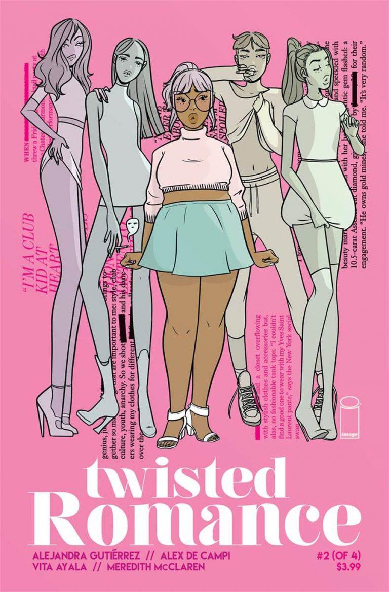 Undercover: Twisted Romance #2, by Alejandra Gutiérrez. (Image Comics)