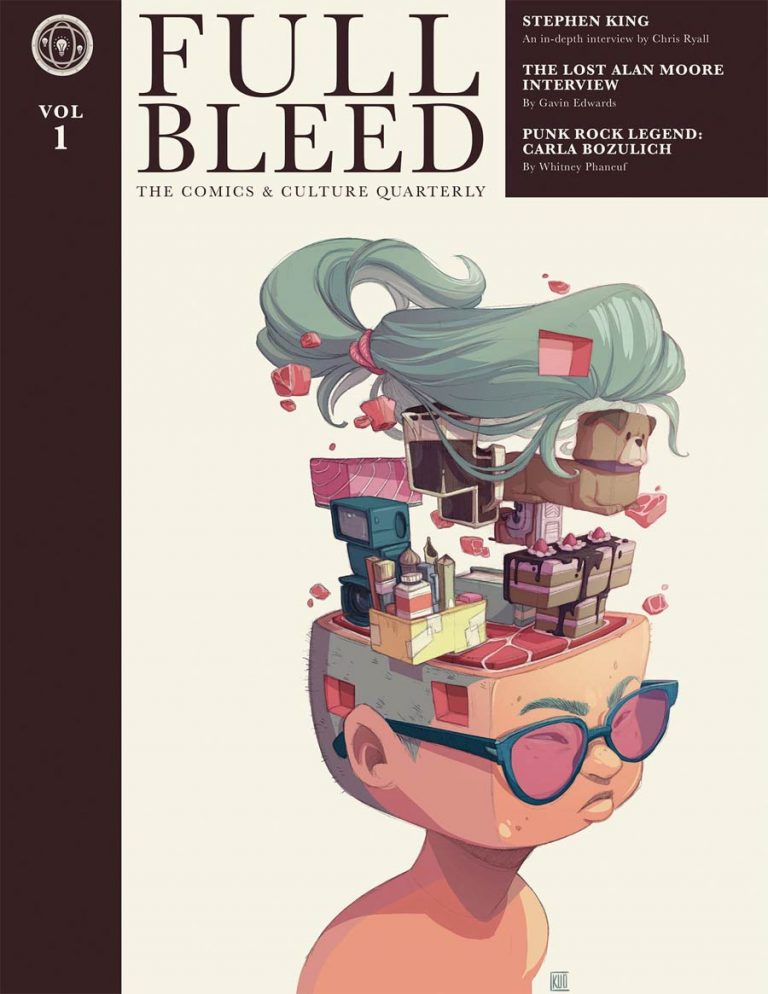 Undercover: Full Bleed Quarterly, Volume 1, by Cassey Kuo (IDW Publishing)