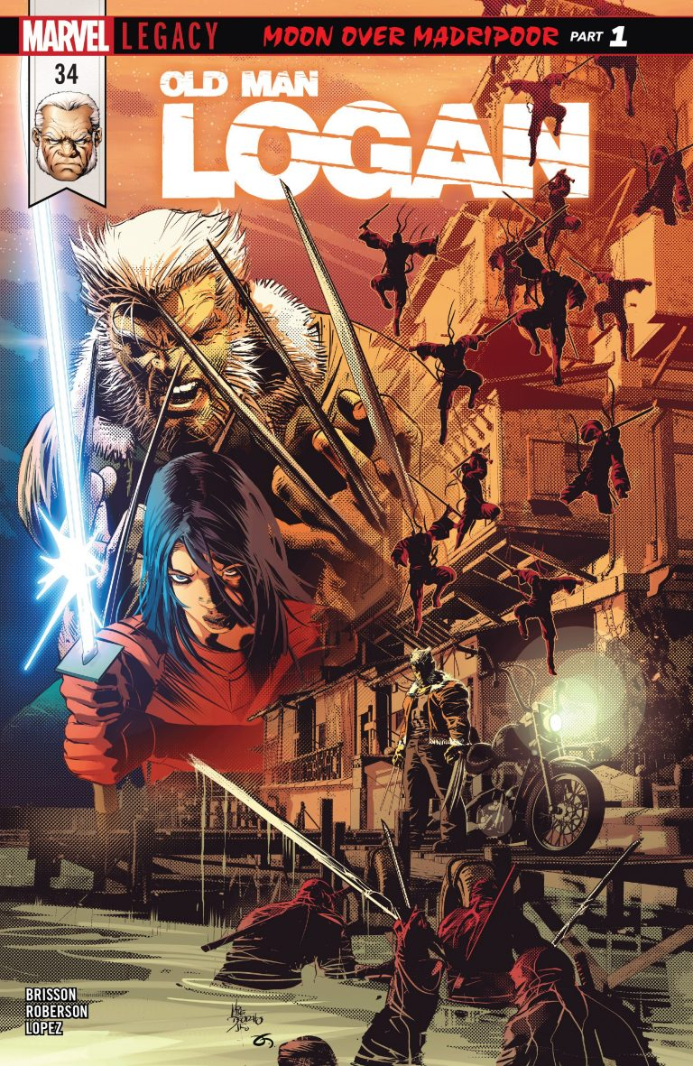 BABM: Old Man Logan #34