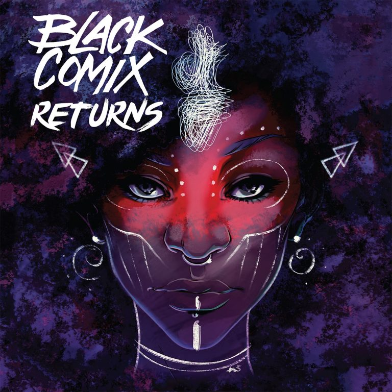 Cover to 'Black Comix Returns'. Art by Ashley A. Woods/Lion Forge/The Magnetic Collection