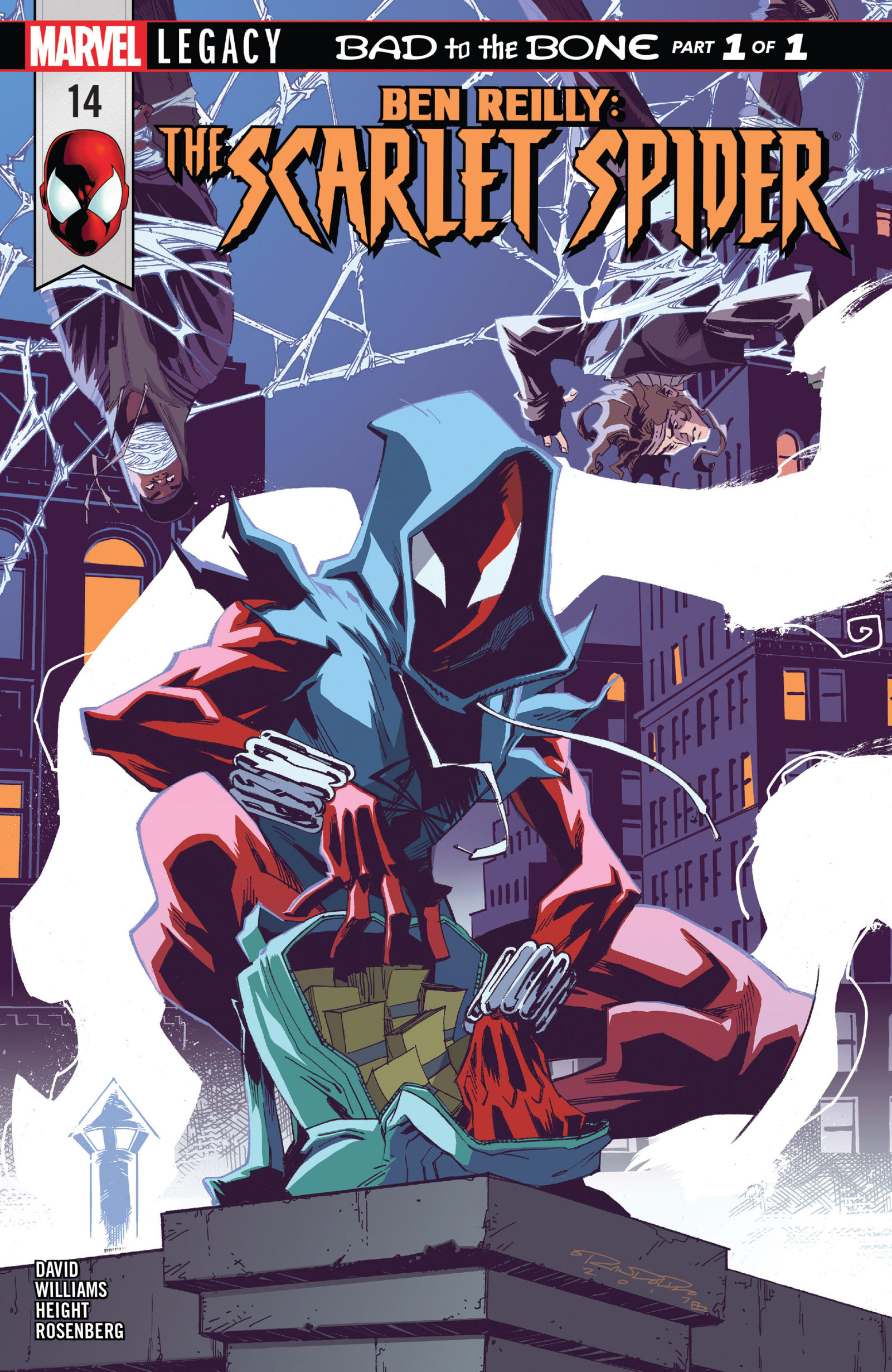 the scarlet spider may be convoluted but well be