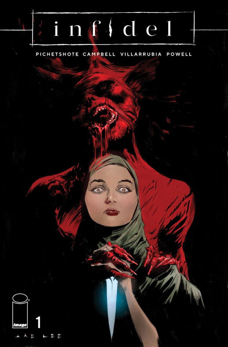 Variant cover to 'Infidel' #1. Art by Jae Lee/Image Comics