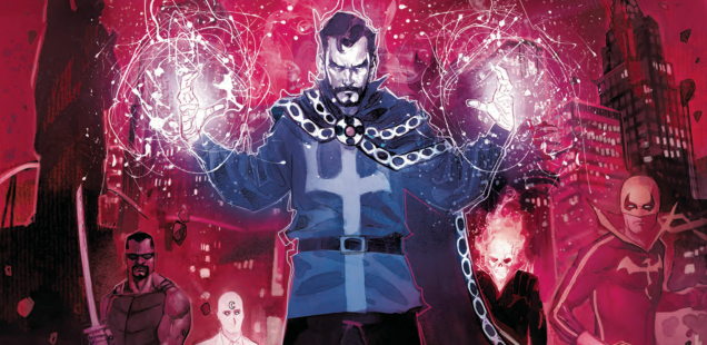 'Doctor Strange: Damnation' dodges limitations by being a helluva lot of fun