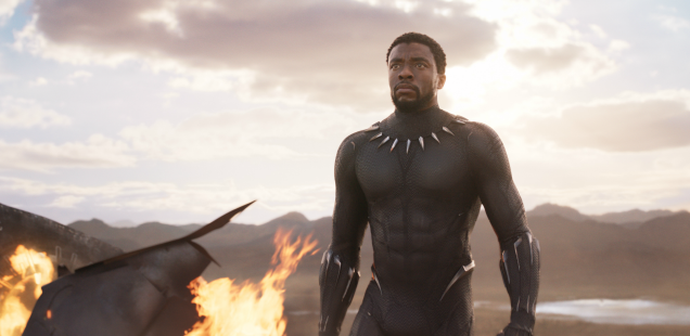 Believe it -- 'Black Panther' the first Marvel Studios film with actual bite