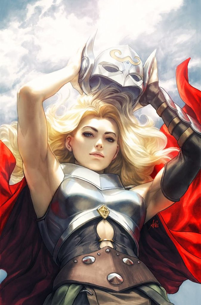 Undercover: The Mighty Thor #705 by Stanley Artgerm Lau. (Marvel Comics)
