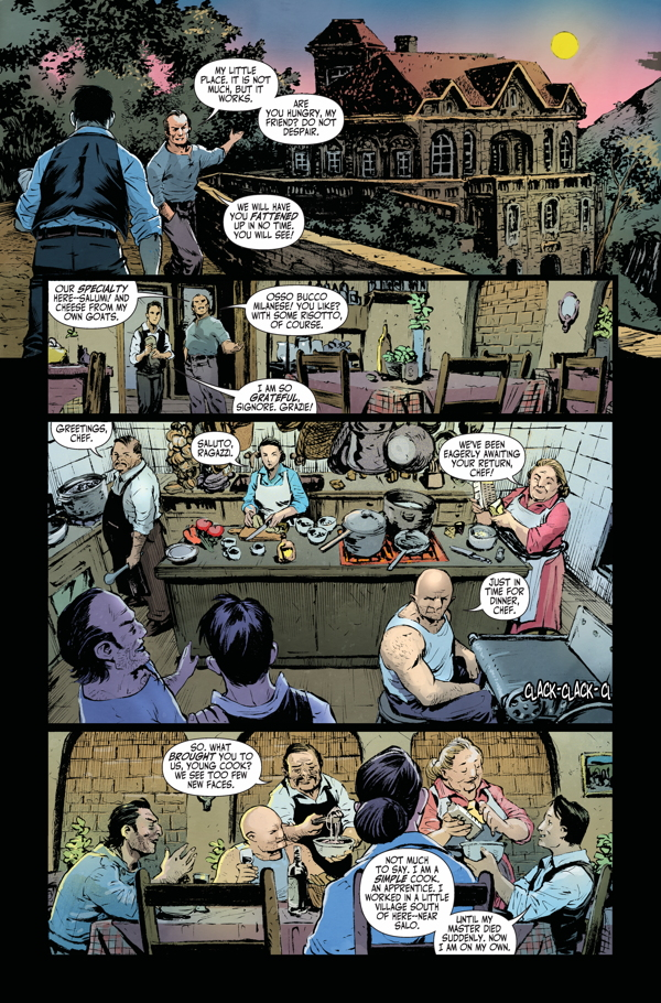 ANTHONY BOURDAIN HUNGRY GHOSTS #2 FEBRUARY 2018 TALES OF FEAR AND FOOD!
