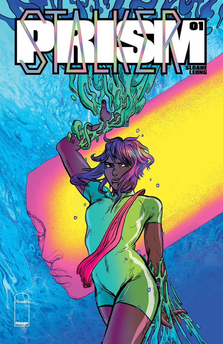 Cover to 'Prism Stalker' #1. Art by Sloane Leong/Image Comics