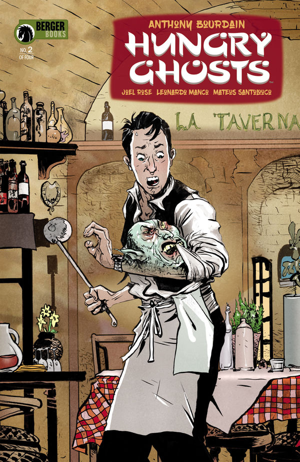 Cover to 'Hungry Ghosts' #2. Art by Paul Pope/Dark Horse Comics/Berger Books